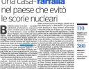 """la nostra """"Abitazione per la Pace"""" sul Corriere della Sera"""